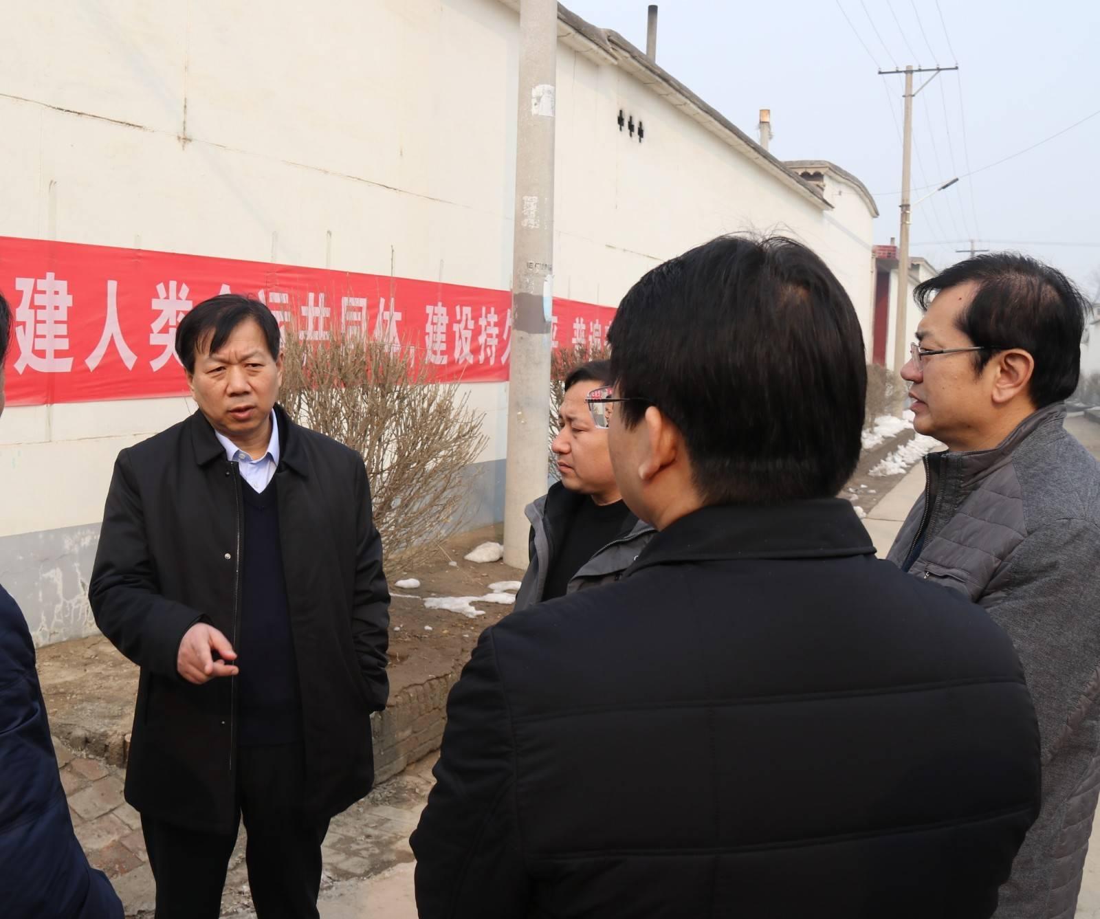 市委书记刘金宇调研我市大气污染防治工作