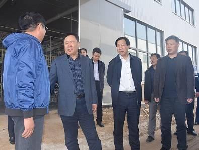 邢台市政府副市长张西军来我市调研指导工作