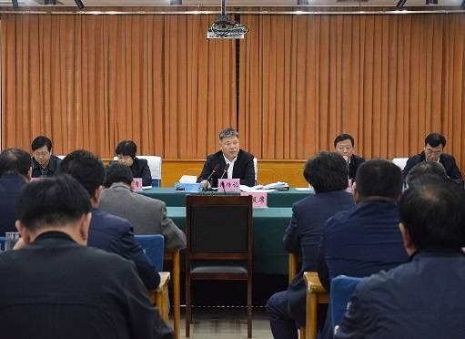 市委副书记、市长郑传记主持召开市政府常务