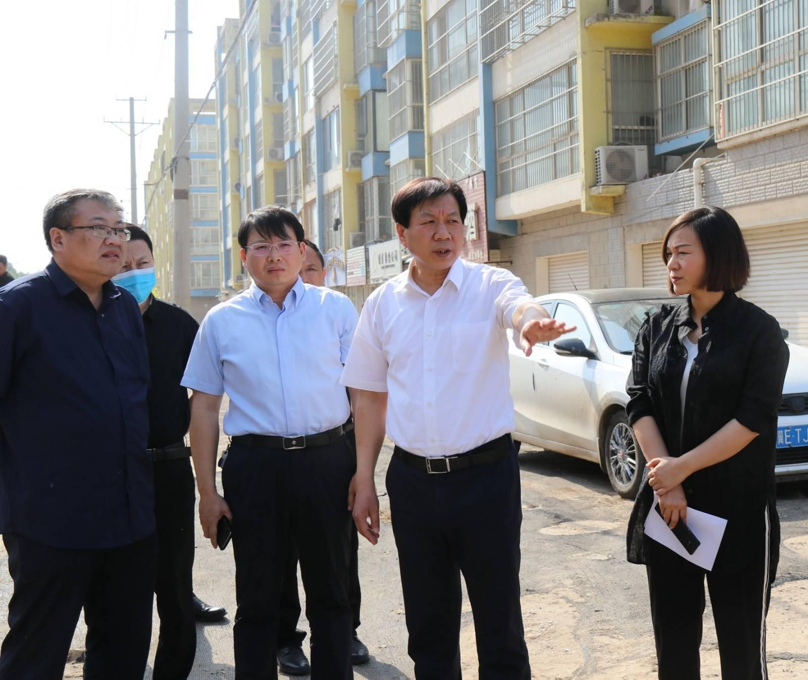 市委书记刘金宇实地督导检查省级文明城市、