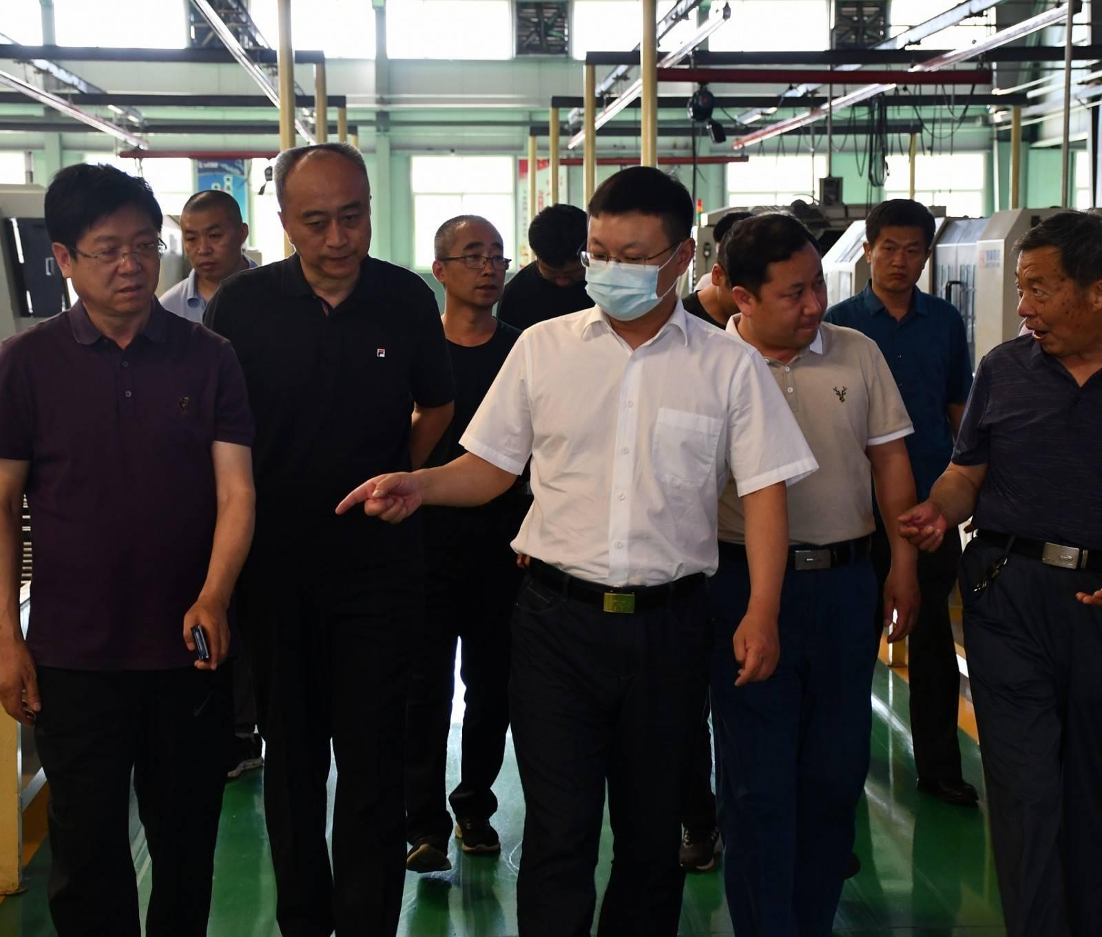 市委副书记、市长朱继坤调研河长制、自备井
