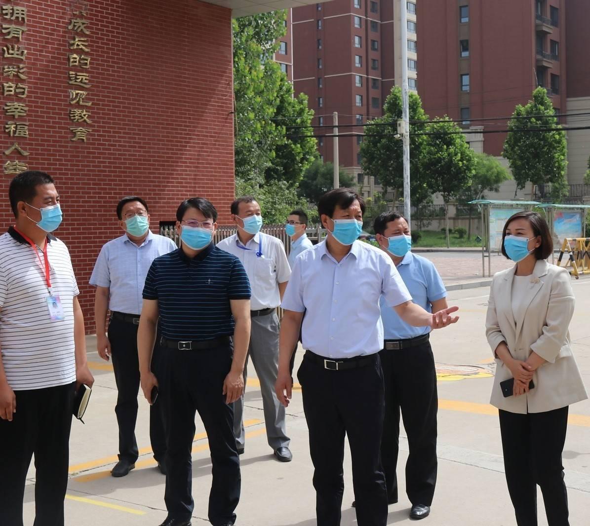 市委书记刘金宇调研检查创新创业、复学复课