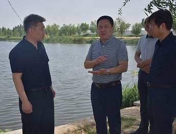 邢台市副市长张西军来我市检查防汛工作