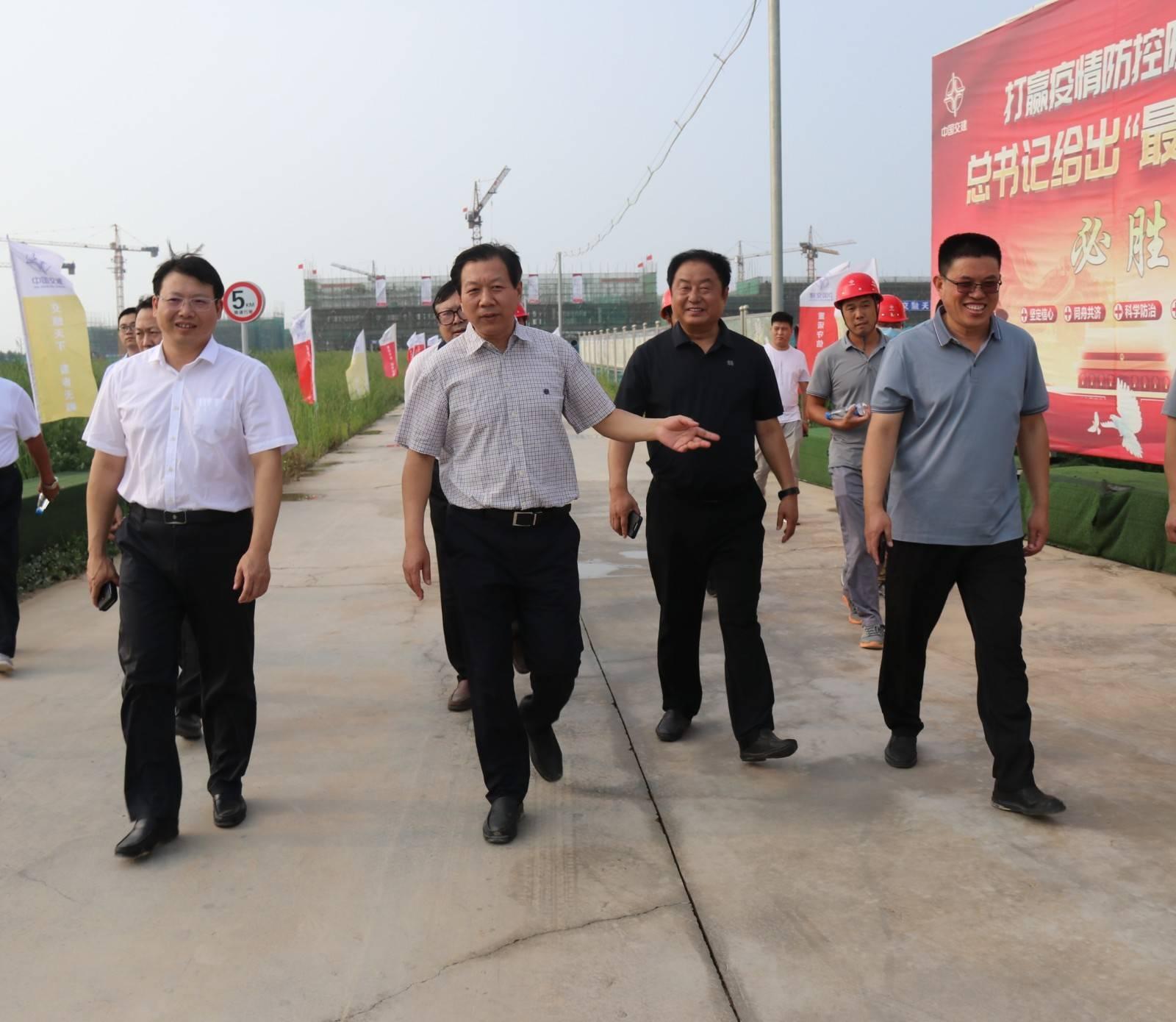 市委书记刘金宇深入尚小云大剧院、环湖绿道