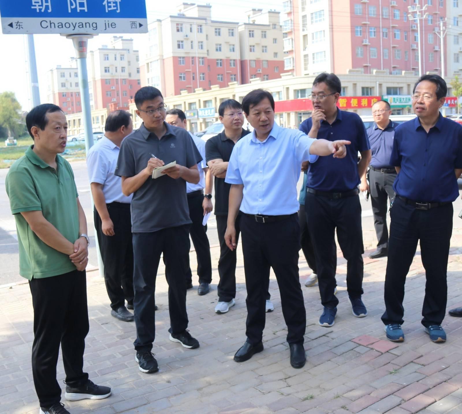 市委书记刘金宇实地督查创城工作