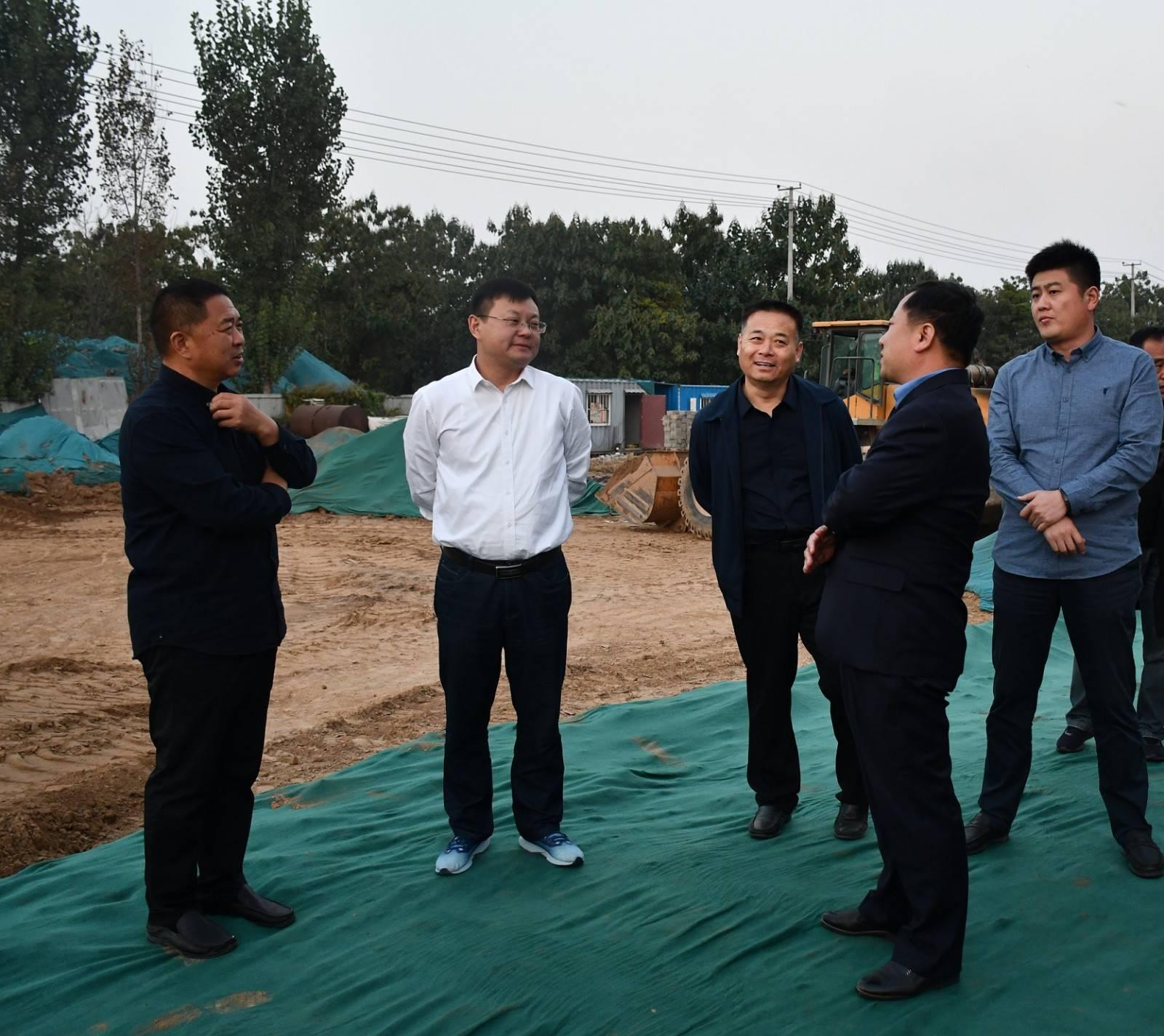 朱继坤市长调研城建工程和大气污染防治工作