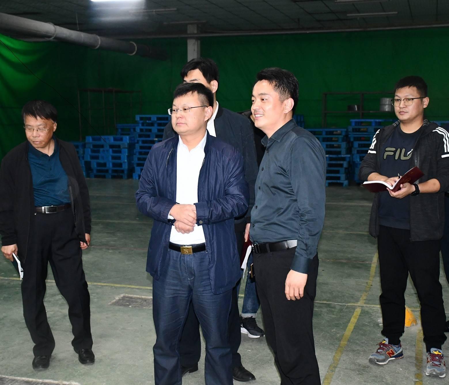 朱继坤市长实地调研规上企业和重点项目建设