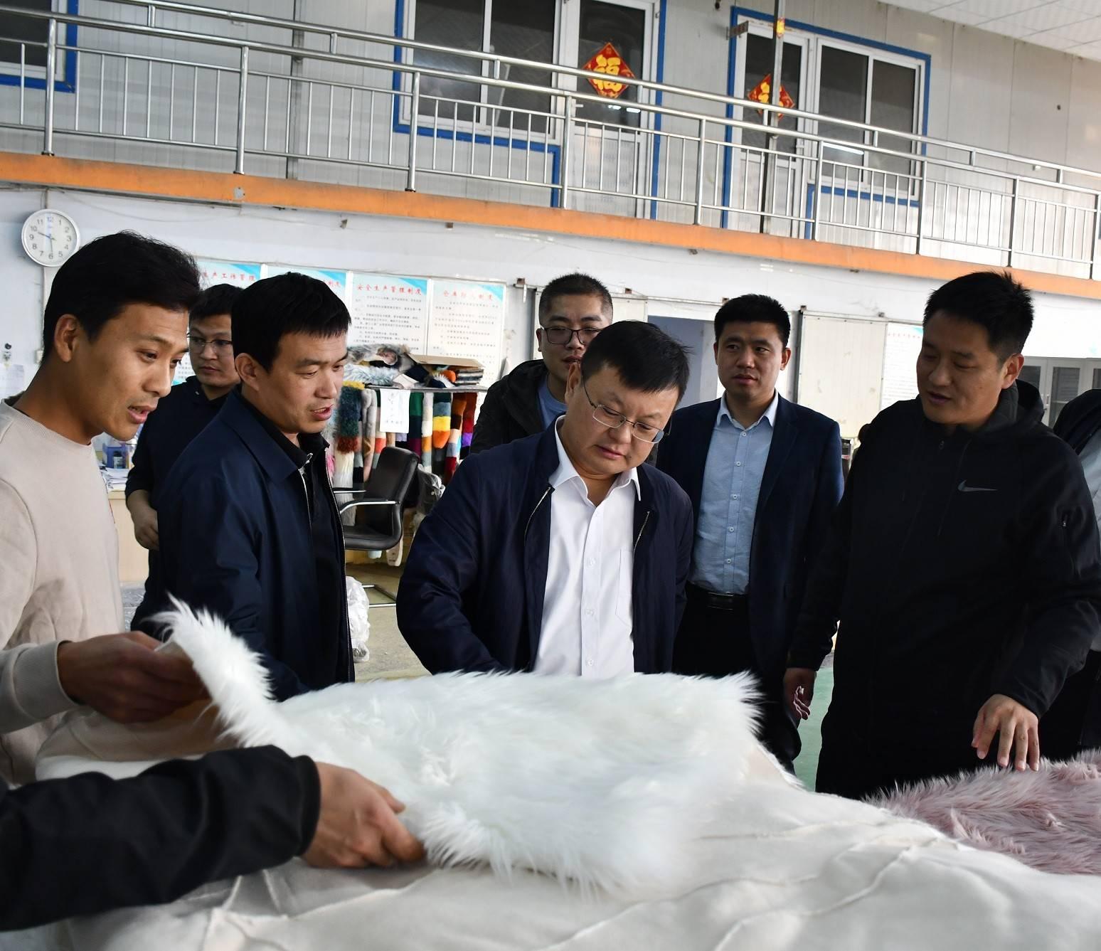 朱继坤市长实地走访调研企业运行