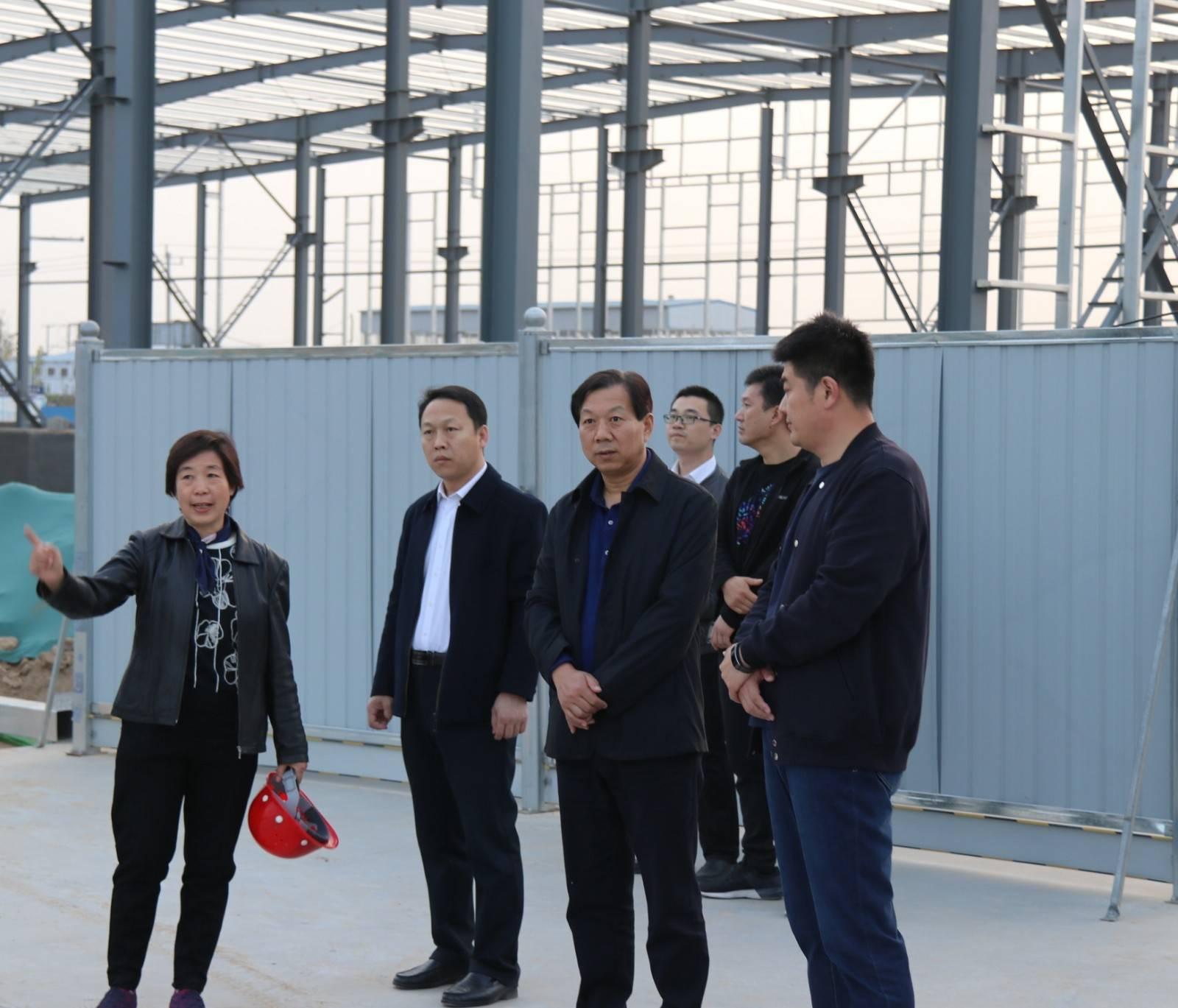 刘金宇书记到我市工业园区调研企业生产情况