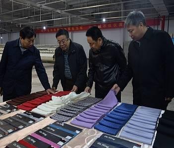 邢台市政府副市长张西军来南宫调研